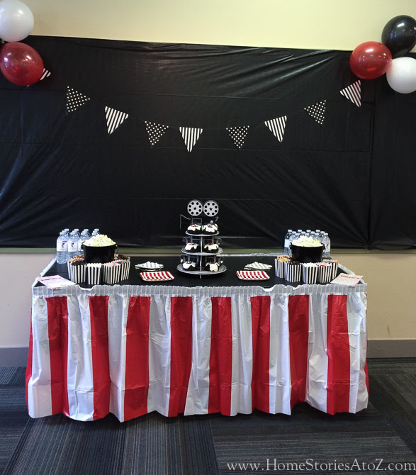 Movie Themed Birthday Party