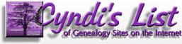 Cyndi's List of Genealogy Sites on the Internet