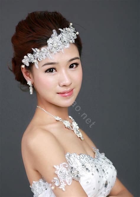 Buy Wholesale Wedding Bride Jewelry Crystal Lace Flower