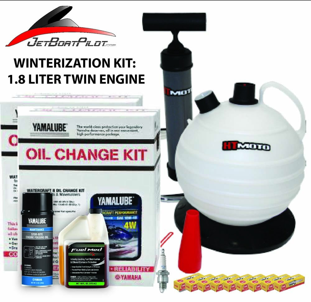 Yamaha 18l Twin Engine Winterization Kit