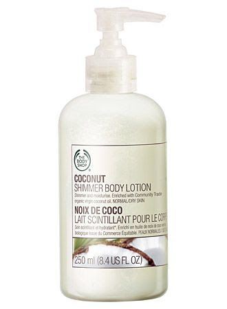 The Body Shop Coconut Shimmer Body Lotion