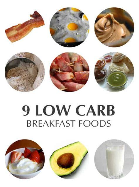 carb breakfast foods   carb diet