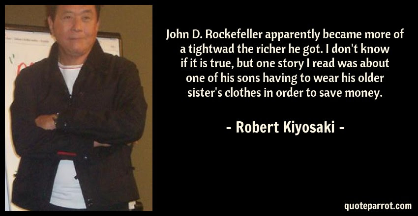 John D Rockefeller Apparently Became More Of A Tightwa By Robert