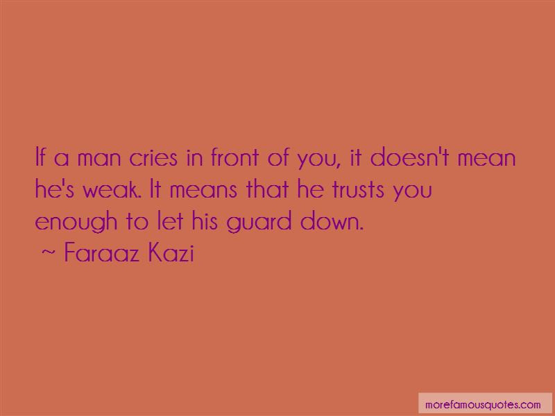 If A Man Cries Quotes Top 50 Quotes About If A Man Cries From