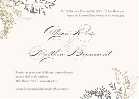 wedding invitation : wedding invitations template   Superb