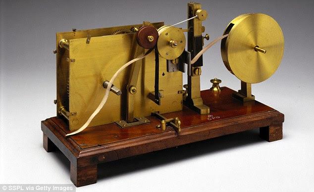 Mesin Fax Pertama Alexander Bain