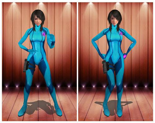 MMD Yuri Zero Battlesuit