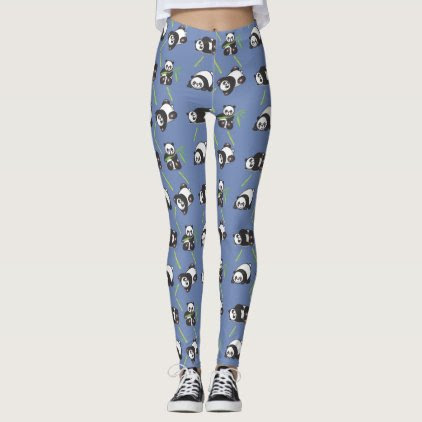 Kawaii Pandas Women's Leggings