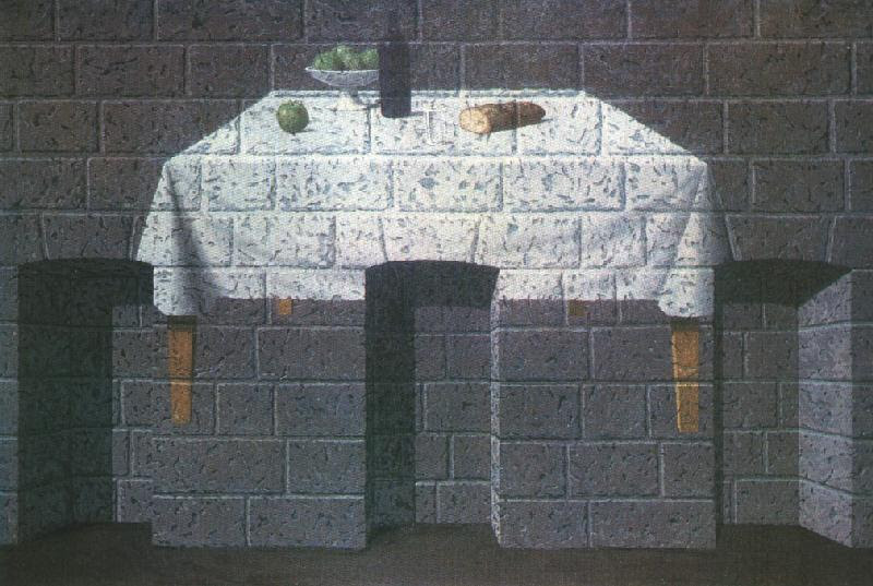 The endearing truth, 1966 Rene Magritte