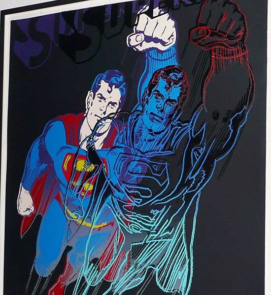 "A obra ""Superman"", de Andy Warhol"