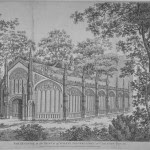 """The Prince of Wales Gothic Conservatory at Carlton House"" via www.GeorgianIndex.net"