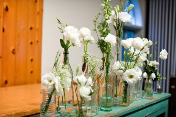 Daytime Centerpieces...help!!! :  wedding centerpieces daytime Mullet Wedding Dress 45