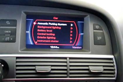 2006 Audi A6 Navigation System