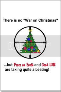 """There is no """"War on Christmas"""", but """"Peace on Earth"""" and """"Good will"""" are taking quite a beating"""