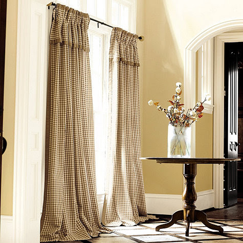 Check Draperies Curtains with French Pleats for a Traditional ...