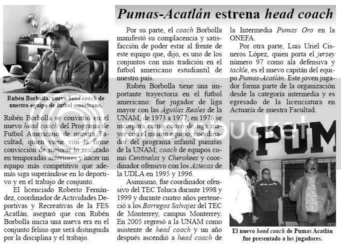 NotiFESA del 10 de enero de 2007, página 7. Da click a la imagen para verla en un tamaño mayor