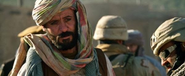 Gulab (Ali Suliman) played a role in getting Marcus Luttrell (Mark Wahlberg) rescued by U.S. forces in LONE SURVIVOR.