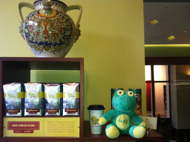 Frog Q at Caffe Umbria