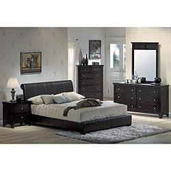 Chocolate Espresso Platform King Bedroom Set | Overstock.