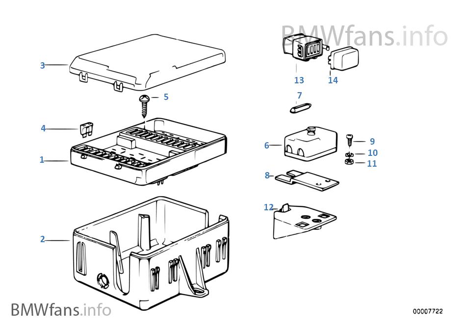 Bmw E30 318i Fuse Box - Wiring Diagram Schema