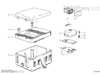 1991 Bmw 525 I Fuse Box Diagram