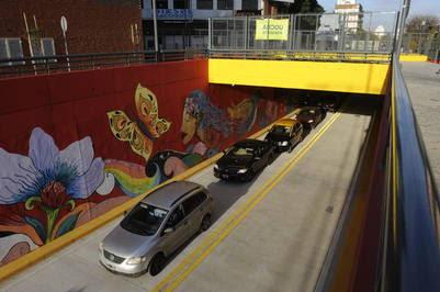 Ya funciona el nuevo túnel de Congreso y las vías del tren Mitre Movilidad. Fotos Alfredo Martínez