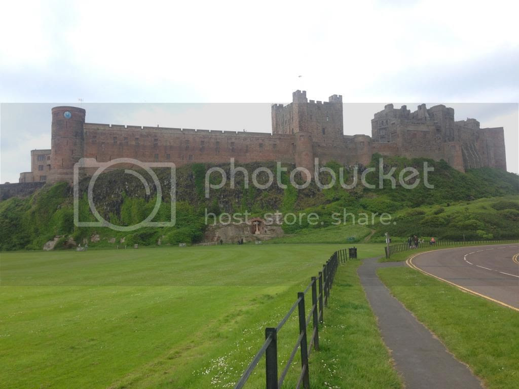 Bambrugh Castle Northumberland Travel Blogger