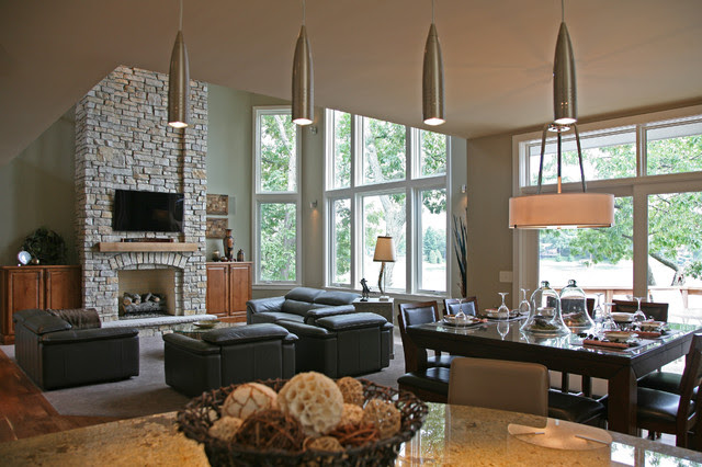 lake house - Contemporary - Kitchen - milwaukee - by ...