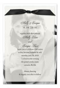 Sheer Photo Perfection   Wedding Invitations by Invitation