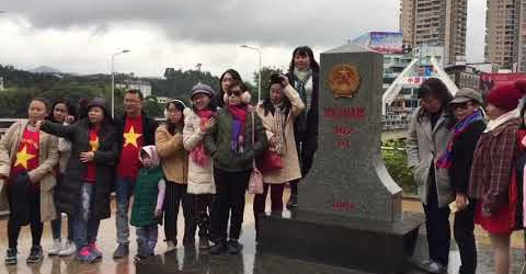 Ghé cột mốc 102 Lào Cai   Cửa khẩu Hà Khẩu Trung Quốc