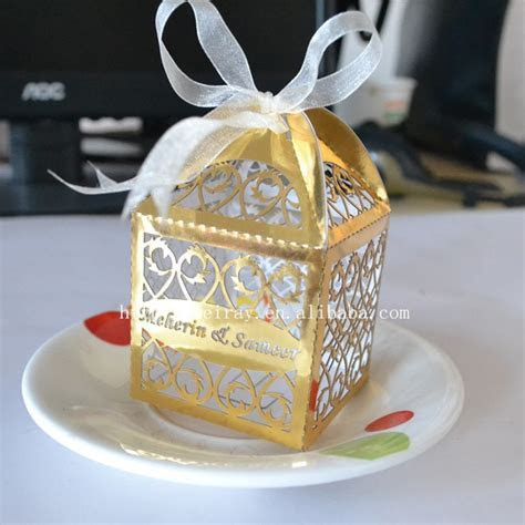 Aliexpress.com : Buy laser cut favor boxes,wedding