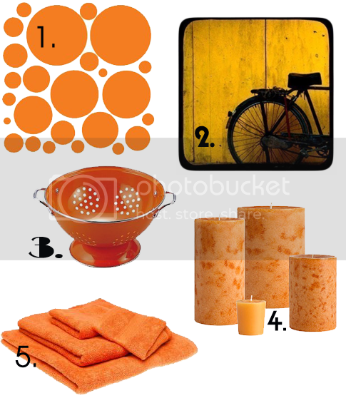 Trendy Orange Decorating Ideas | Skimbaco Lifestyle | online magazine