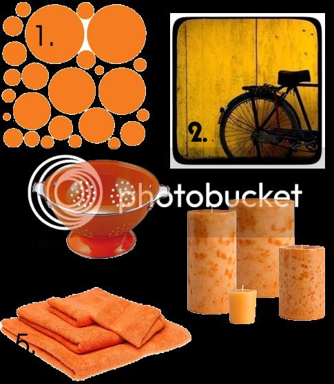 Trendy Orange Decorating Ideas | Skimbaco Lifestyle | online magazine