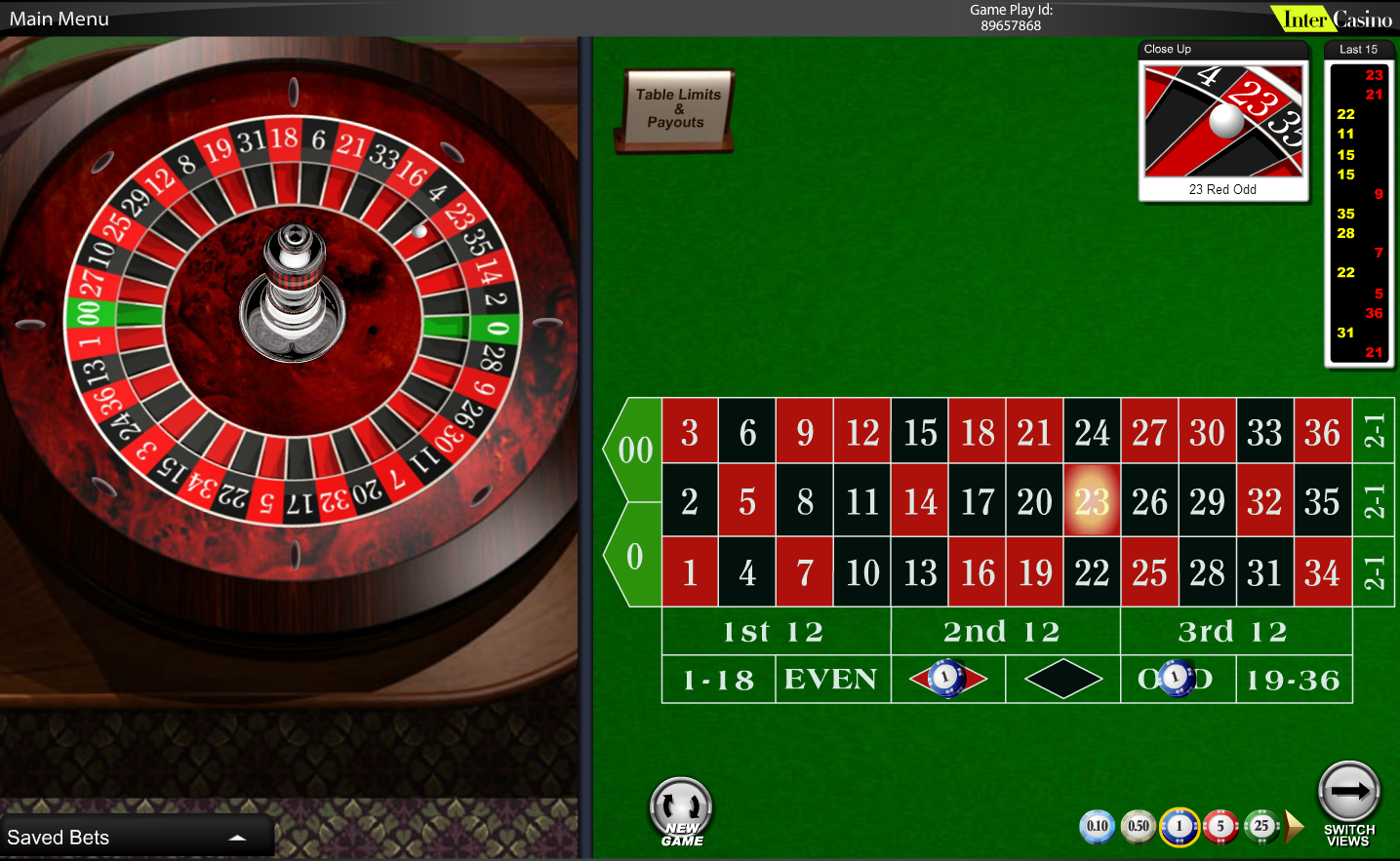 Play roulette for free wizard of odds