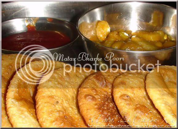 Pea Stuffed Poori