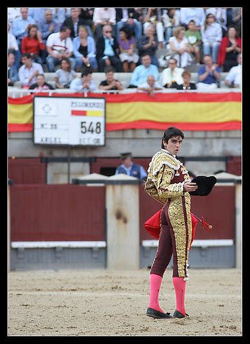 Miguel Ángel Perera. Brindis