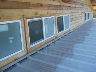 Several Rows of Siding