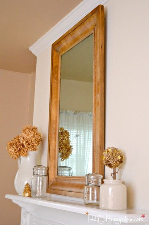 remove-veneer-DIY-faux-vintage-wood-frame-mirror-H2OBungalow-