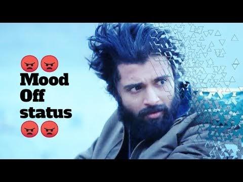 Mood off status video|devarakonda