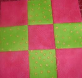 Three by Three Swap PinkGreen