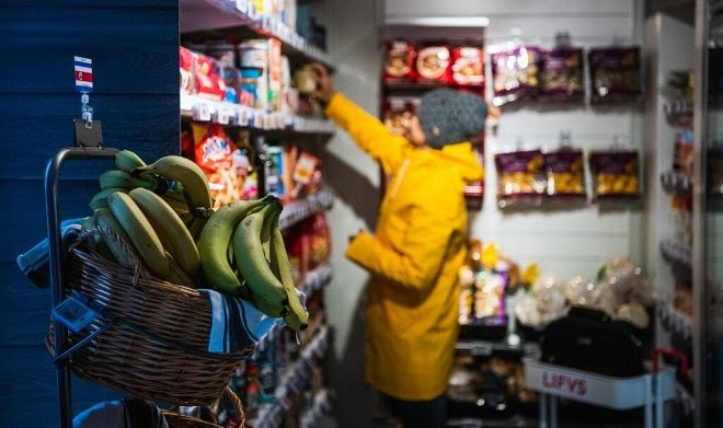 Магазины-роботы приходят на помощь жителям шведской глубинки