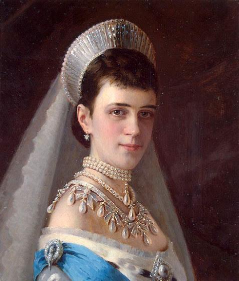 Maria Fyodorovna, empress of Russia (Ivan N. Kramskoy)