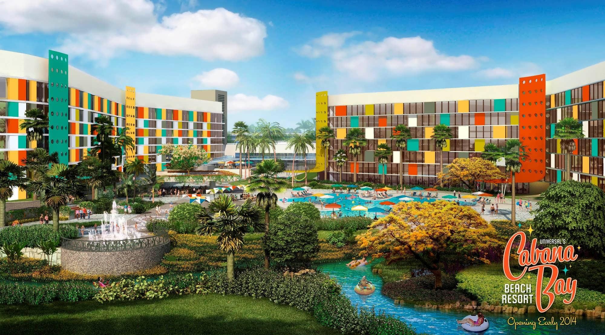 Cabana Bay Beach Resort at Universal Orlando First look