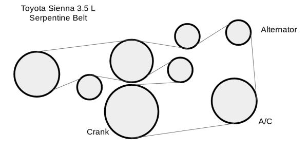 25 2003 honda accord v6 serpentine belt diagram