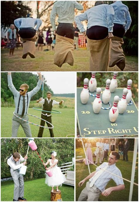 Engage your #wedding guests with quirky #picnic games like