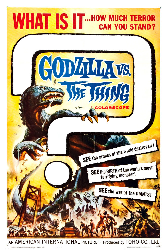 Reynold Brown - Godzilla vs. the Thing (American International, 1964).2