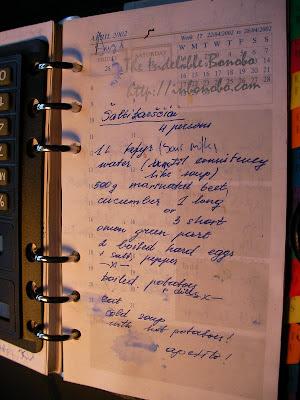 Lithuanian Borscht Recipe