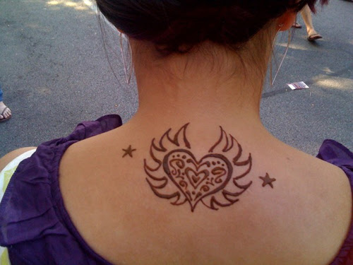 Decide where you would like to place your tattoo. Henna Tattoos Designs Take