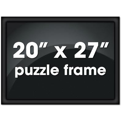 Custom Jigsaw Puzzle Frame 20 X 27 Puzzle Picture Frames