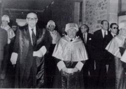 Carvalho e Cunqueiro na Universidade de Santiago